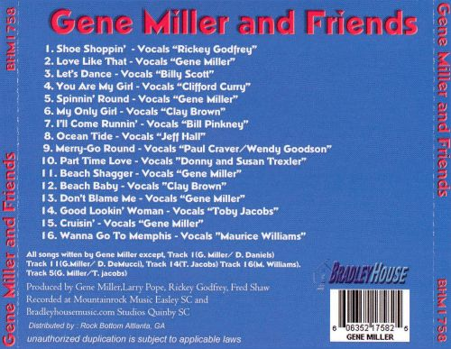 Gene Miller And Friends