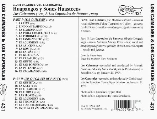 Music of Mexico, Vol. 3: Huapangos Y Sones Huastecos