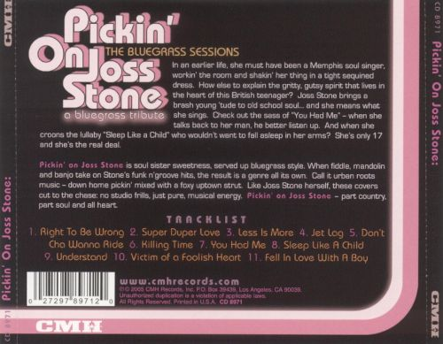 Pickin' on Joss Stone: The Bluegrass Sessions