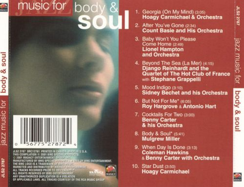 Jazz Music For: Body and Soul