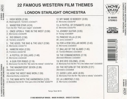 22 Famous Western Film Themes