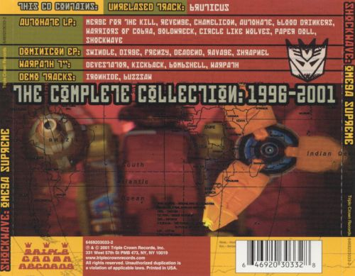 Omega Supreme: The Complete Collection 1996-2001
