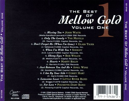 The Best of Mellow Gold, Vol. 1