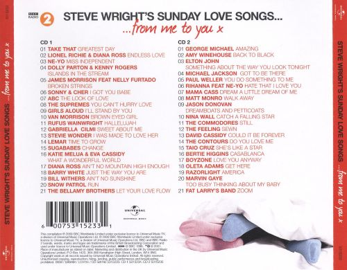 Steve Wright's Sunday Love Songs: From Me To You