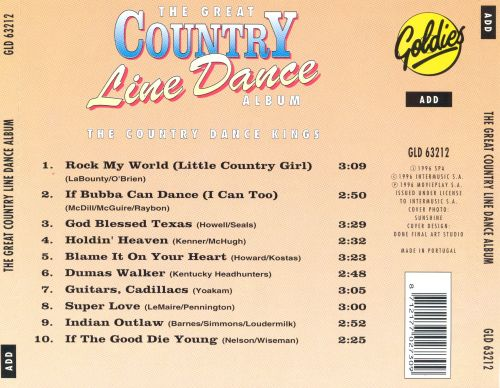 Great Country Line Dance Album