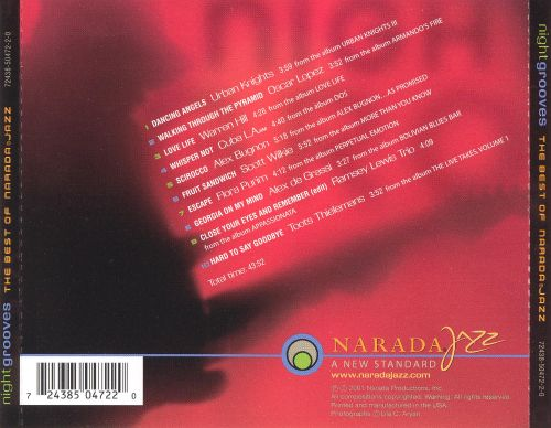 Night Grooves, Vol. 1: The Best of Narada Jazz