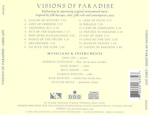 Visions of Paradise