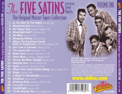 The Original Master Tapes Collection, Vol. 1