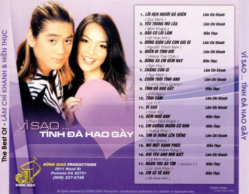 The Best of Lam Chi Khanh & Hien Thuc