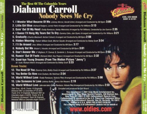 Nobody Sees Me Cry: The Best of the Columbia Years