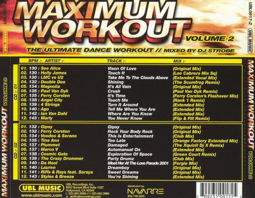 Maximum Workout, Vol. 2