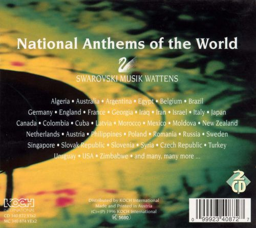 National Anthems of the World [Koch]
