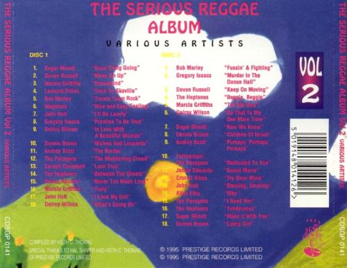 The Serious Reggae Album, Vol. 2