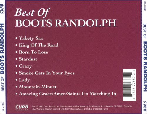 The Best of Boots Randolph