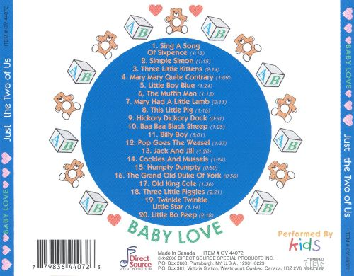 Baby Love: Just the Two of Us