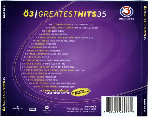 Ö3 Greatest Hits, Vol. 35