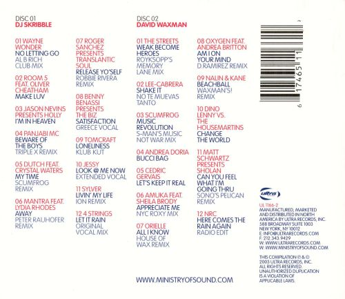 American Anthems [Ministry of Sound]