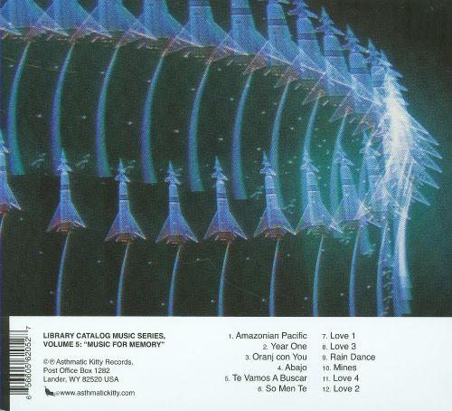 Library Catalog Music Series, Vol. 6: Music for Memory