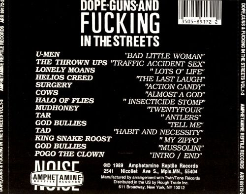Dope, Guns and Fucking in the Streets, Vols. 1-3