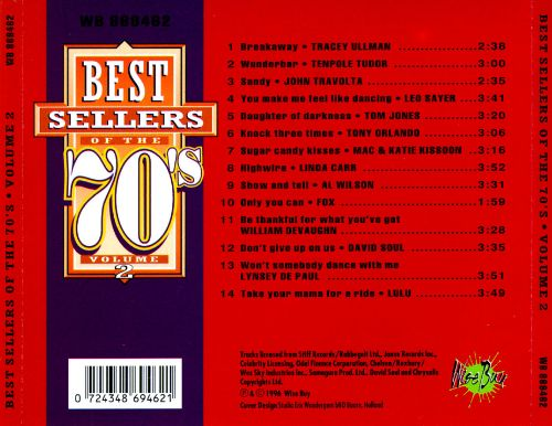 Best Sellers of the 70's, Vol. 2