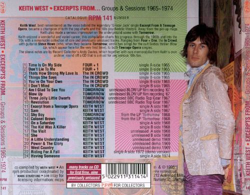 Excerpts From...Group & Sessions 1965-1974