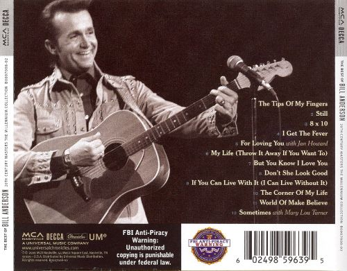 20th Century Masters: The Millennium Collection: The Best of Bill Anderson