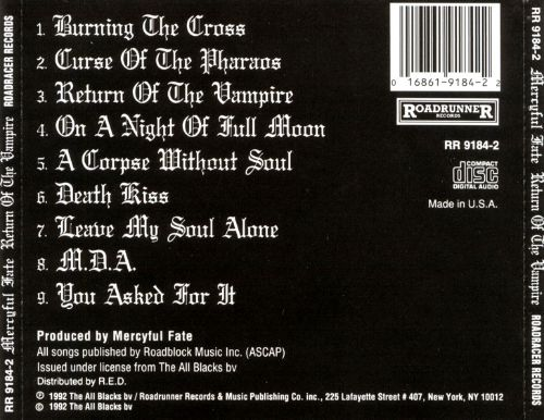Return of the Vampire - Mercyful Fate | Songs, Reviews, Credits ...