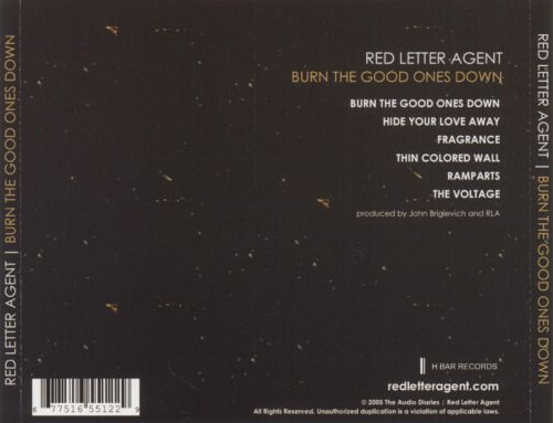 Burn the Good Ones Down [EP]