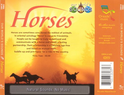 Our World's Sounds: Horses