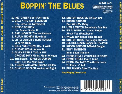 Boppin' the Blues [Charly]