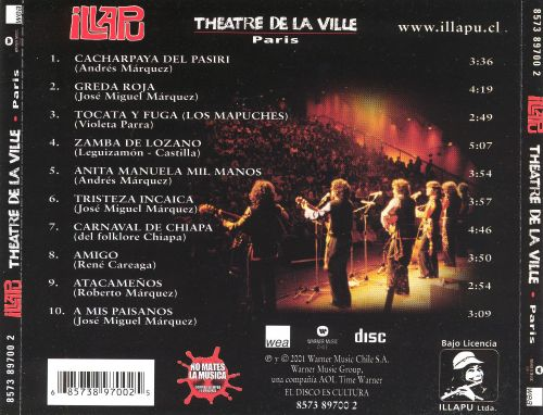 Theatre de la Ville: Paris en Vivo