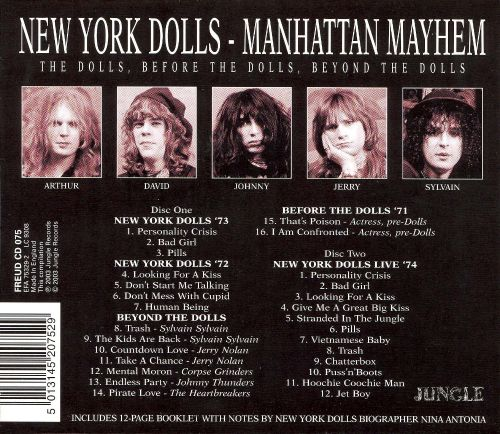 Manhattan Mayhem: A History of the New York Dolls