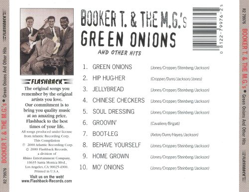 Green Onions and Other Hits