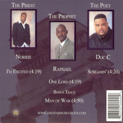The Priest, The Prophet and Poet
