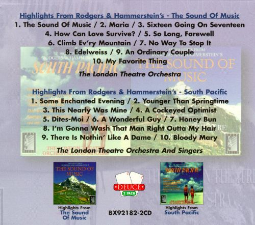 The Best of Rodgers & Hammerstein [Boxsets]