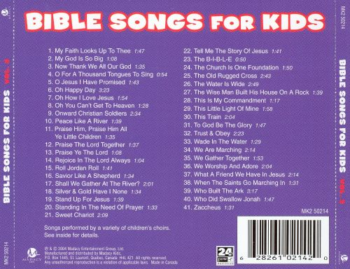 Bible Songs For Kids, Vol. 3