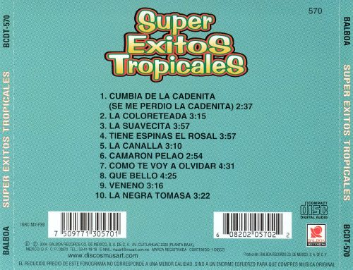 Super Exitos Tropicales