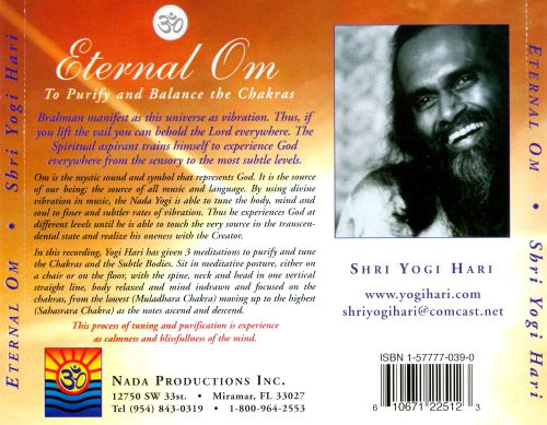 Eternal Om: To Purify and Balance the Chakras