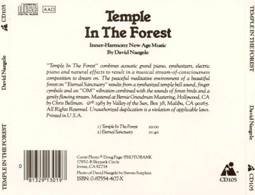 Temple In The Forest [1982]