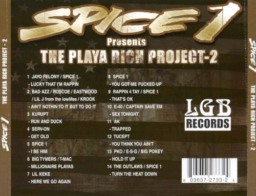 The Playa Rich Project, Vol. 2