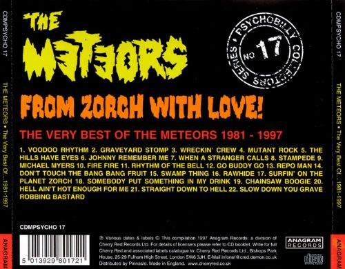 From Zorch with Love: The Very Best of the Meteors 1981-1987
