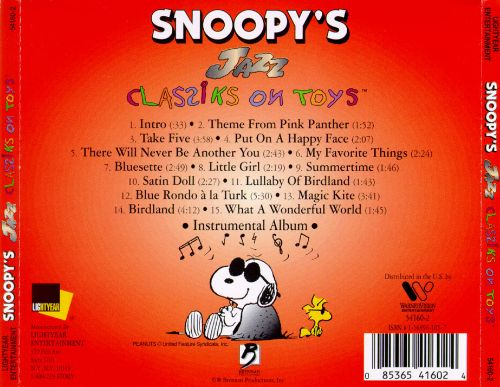 Snoopy's Classiks on Toys: Jazz
