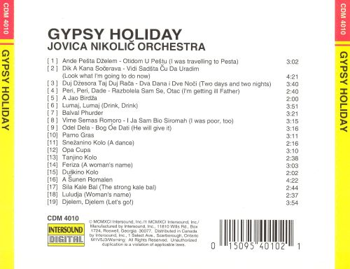 Gypsy Holiday