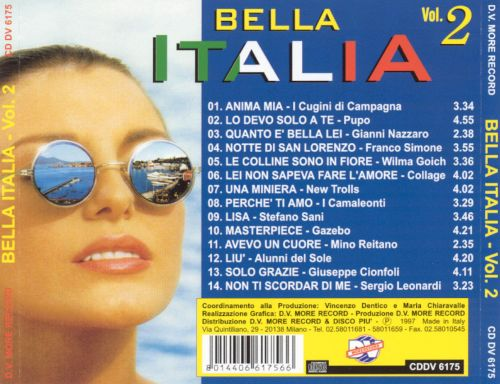 Bella Italia, Vol. 2 [D.V. More]