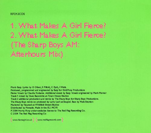 What Makes a Girl Fierce? [2 Tracks]