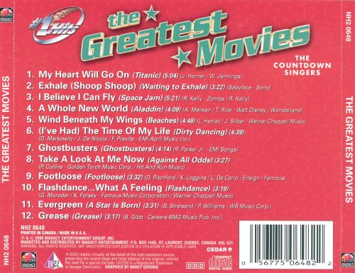 Hot Hits: The Greatest Movies