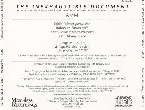 The Inexhaustible Document