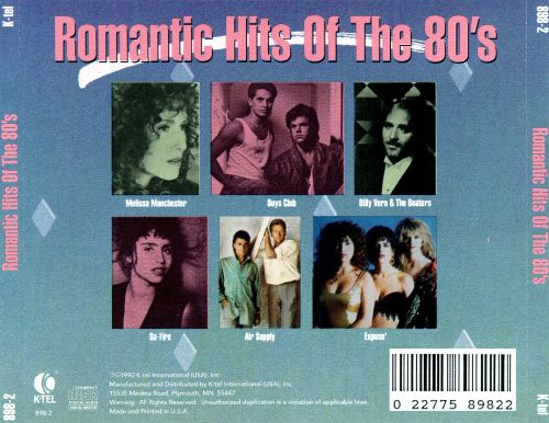 Romantic Hits of the 80's