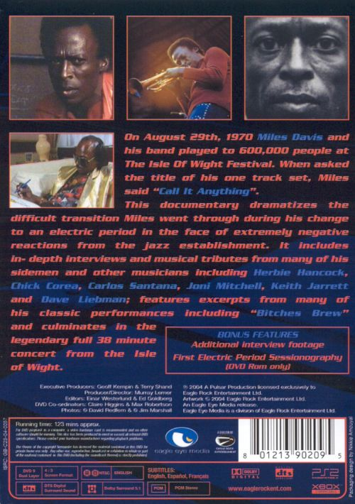 Miles Electric: A Different Kind of Blue [DVD]