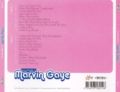 The Very Best of Marvin Gaye [Mastersong]